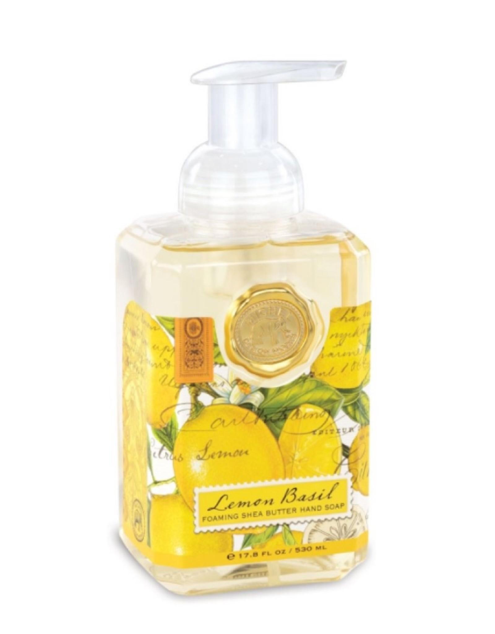 FOA8 Lemon Basil Foaming Soap