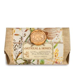 Oatmeal And Honey Large Soap Bar