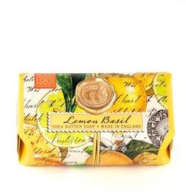 Lemon Basil Large Bath Soap Bar