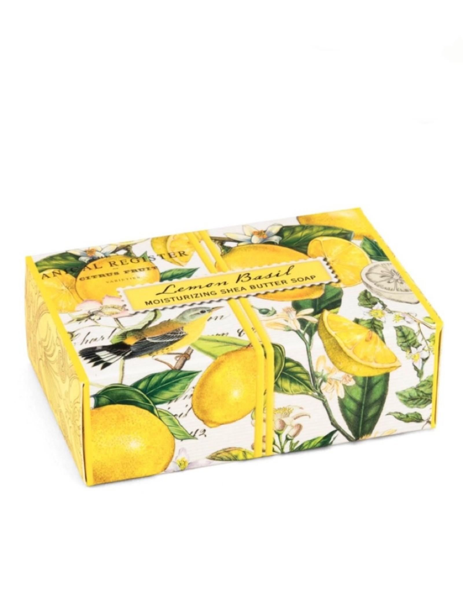SOAX8 Lemon Basil Boxed Soap 4.5oz