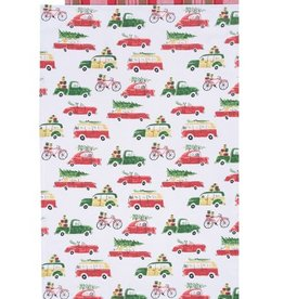 Now Designs Dishtowels Holiday Cars Set Of 2