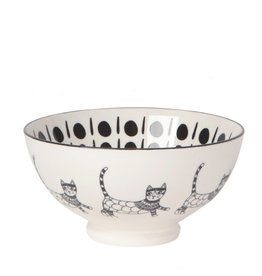 Now Designs Purr Party Bowl 6""