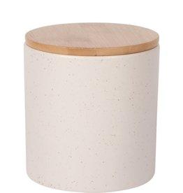 Now Designs Stoneware Canister Sandstone Medium