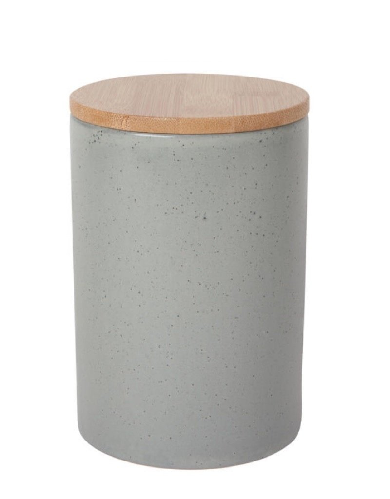 Now Designs 5066026 Stoneware Canister Dusk Large