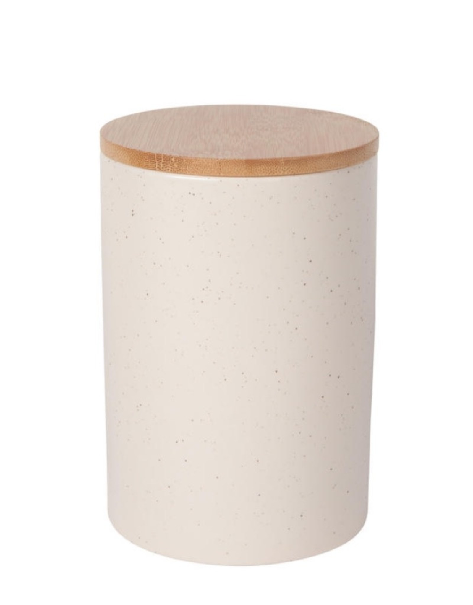 Now Designs 5066023 Stoneware Canister Sandstone Large