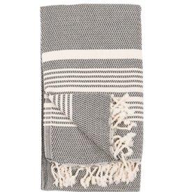Pokoloko Turkish Towel Hasir Carbon