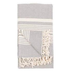 Turkish Towel Hasir Slate