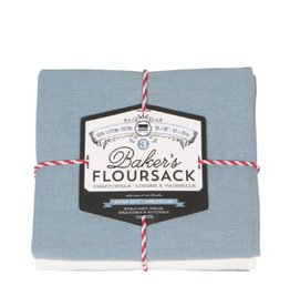 Now Designs Tea Towel Set Of 3 Bakers Floursack Cloud