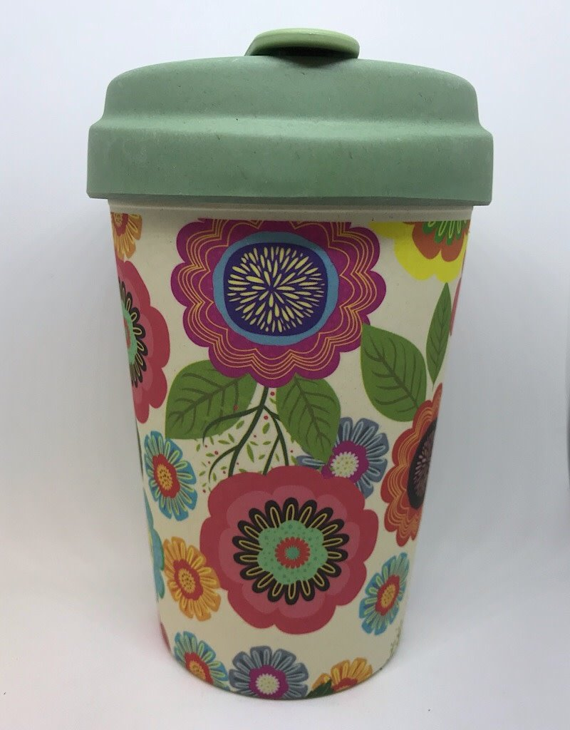 BCP234 Bamboo Cup Flower Power