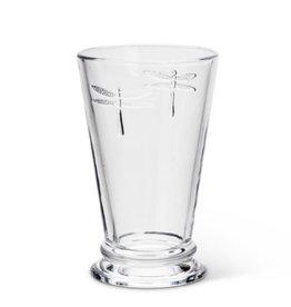 "Dragonfly Glass 5""H (12oz)"
