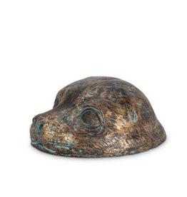 Harbour Seal Head Copper