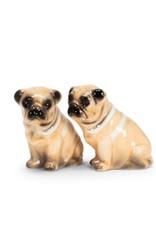 27-KITSCH-291 Pug Dog Salt & Pepper