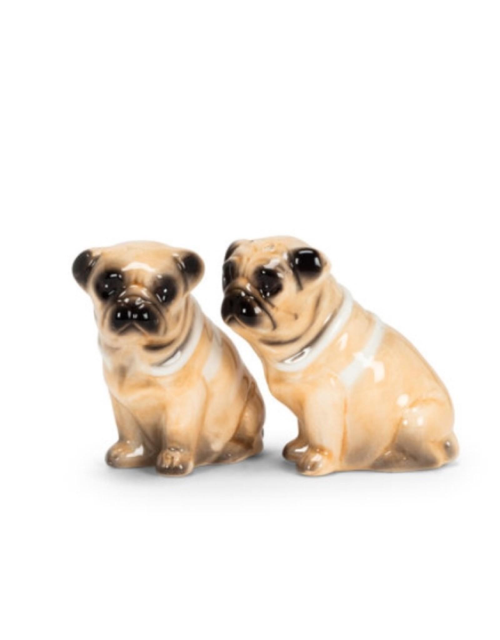 """Pug Dog Salt & Pepper 3"""""""