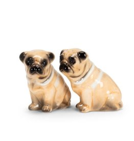 Pug Dog Salt & Pepper