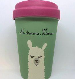 BCP268 Bamboo Cup No Drama, Llama