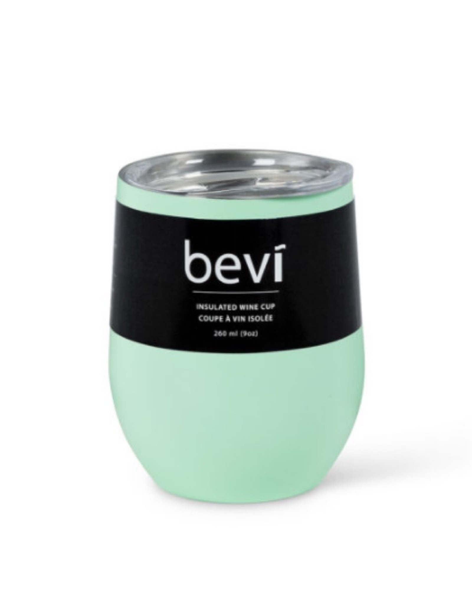 27-BEVI-SG-MINT Mint Insulated Wine Tumbler 12oz