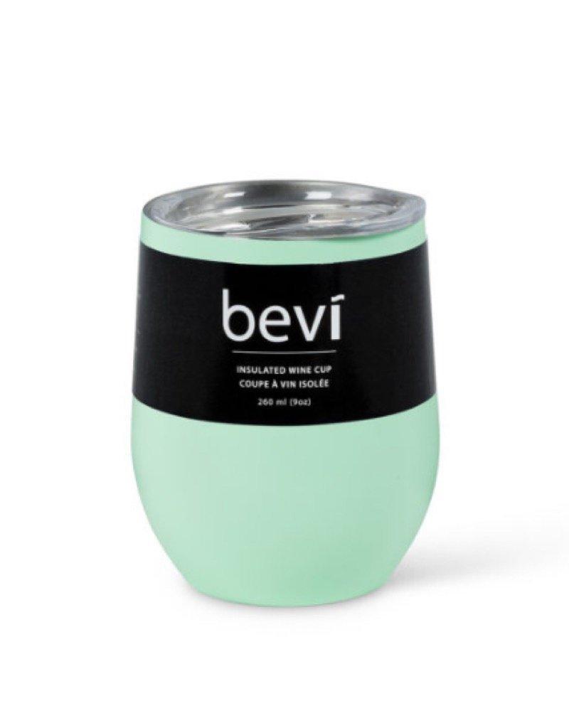27-BEVI-SG-MINT Mint Insulated Wine Tumbler 12oz