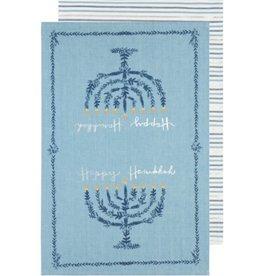 Now Designs Happy Hanukkah Dishtowels