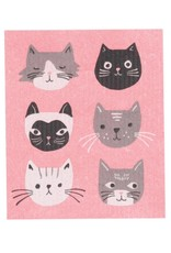 Now Designs 2000031 Swedish Dishcloth Cats Meow