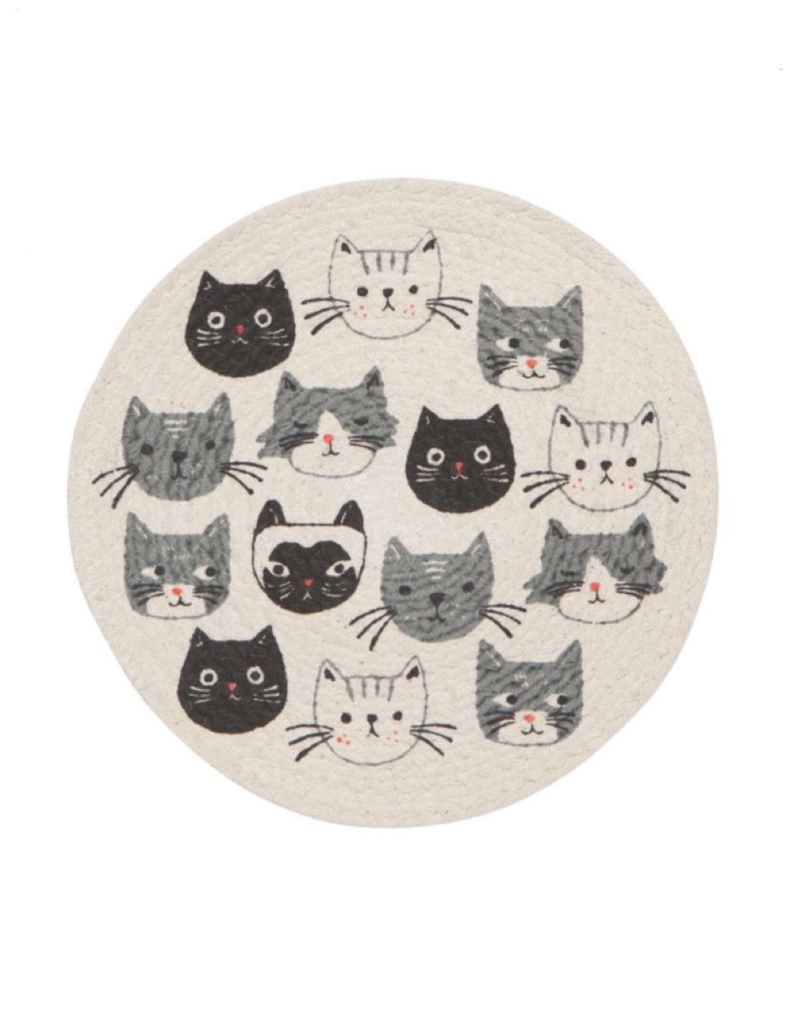 2051001 Cats Meow Braided Trivet