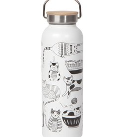 Now Designs Roam Water Bottle Purr Party