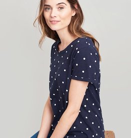 Joules Joules Nessa Print Navy Spot Spring 2019