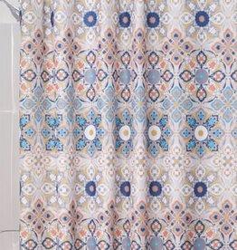 65520 Shower Curtain Henna Medaillon