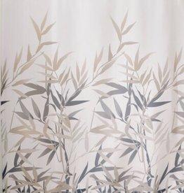 36522 Shower Curtain Anzu SC Black and Tan