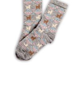 Polygon Alpaca Socks Small / Medium