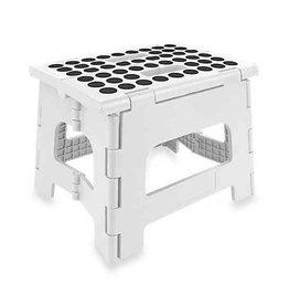 Kikkerland Kikkerland ZZ12-W step stool white