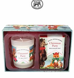 CSS331 Christmas Party Candle And Soap Gift Set