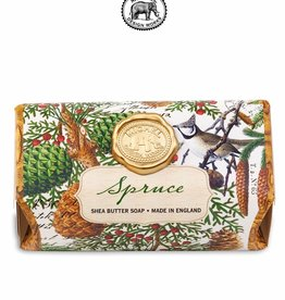 SOAL257 Spruce Large Bath Soap Bar