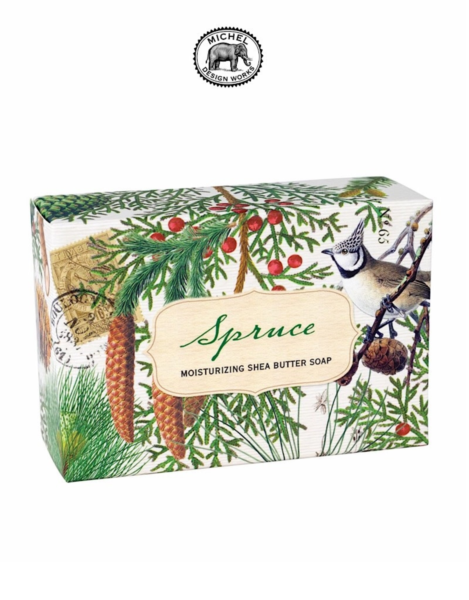 SOAX257 Spruce 4.5 oz Boxed Soap