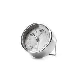 Kikkerland Kikkerland AC11-S Mini Silver Alarm Clock
