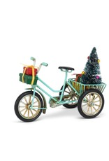 27-GRANDPRIX-445 Tricycle With Tree And Gift