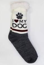 I love My Dog Sock