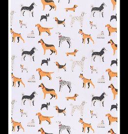 Dog Days tea towel