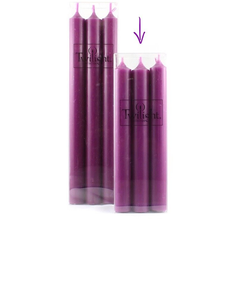 "Twilight 7"" candle - 6 pack"