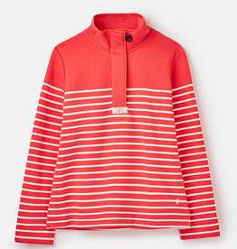Joules Saunton Stripe Classic Red or Cream Sweatshirt Spring 2020