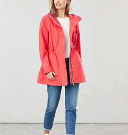 Joules 206209 Shoreside Poppy Waterproof Coat