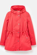 Joules 206209 Shoreside Poppy Waterproof Coat