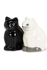 Salt and  Pepper Cats Black & White