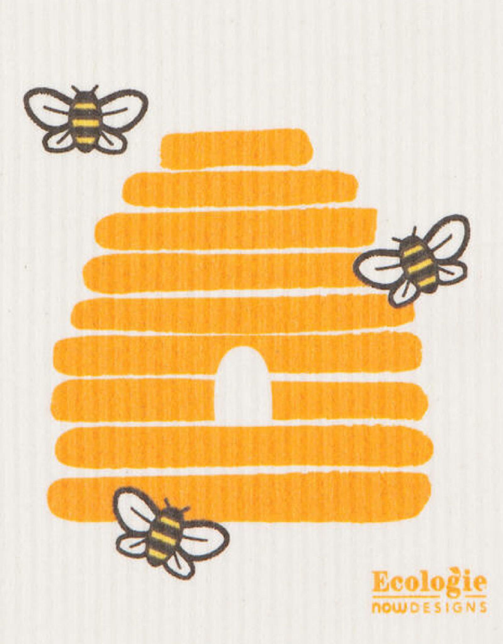 Now Designs 2000071 Swedish Dishcloth Bees