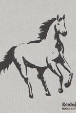 Now Designs All the pretty horses Swedish Dishcloth