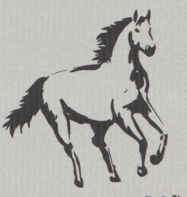 Now Designs All the pretty horses Swedish Dishcloth