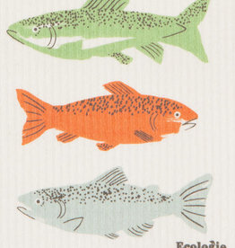 Now Designs Gone fishin' Swedish Dishcloth