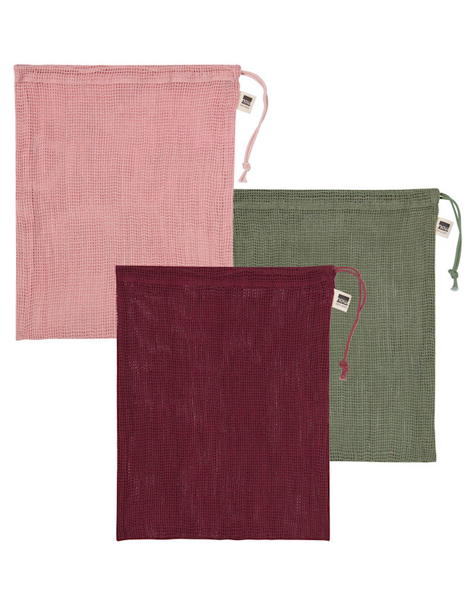 Produce Bag Set/3 Marche Blush