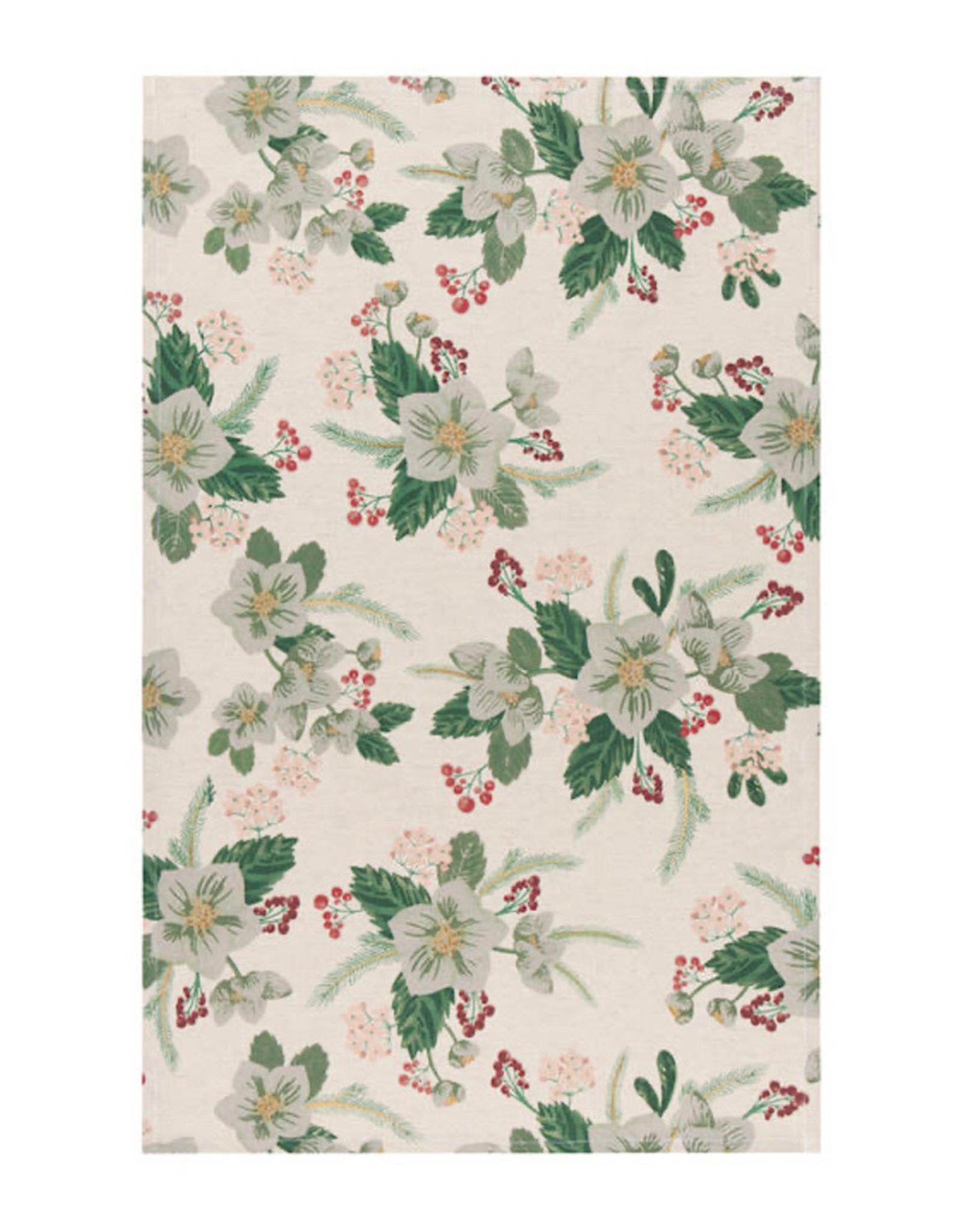 Tea Towel Winterblossom Print