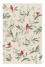 Tea Towel Forest Birds Print