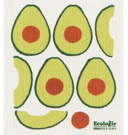 Now Designs Avocados Swedish Dishcloth
